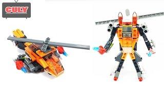 Lego Robot biến hình máy bay trực thăng đồ chơi trẻ em helicopter brick toy for kids childrens