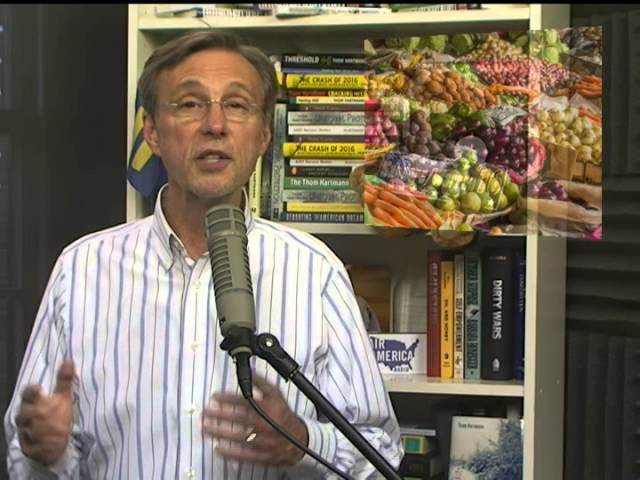 Thom Hartmann on Science & Green News: 7/7/15
