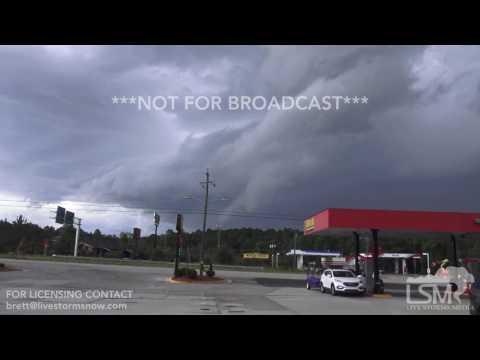 7-15-17 Camden, South Carolina Severe Storm - Shelf Cloud