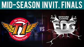 SKT vs EDG - Game 5   Mid-Season Invitational 2015 - Grand Final   SK Telecom T1 vs EDward Gaming