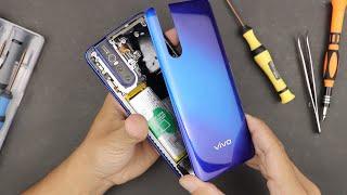 BONGKAR V VO V15 PRO Melihat Pop Up Camera And  N Display Finger Print Scanner