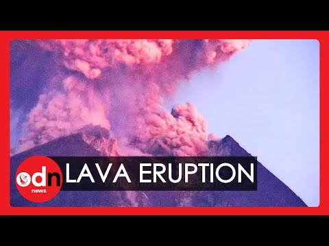 Spectacular Timelapse Shows Moment Indonesia's Volcano Spews Ash and Lava