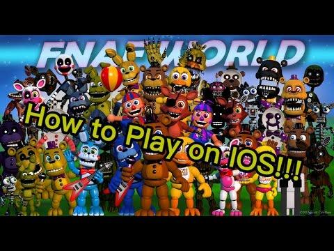 fnaf world download apk ios