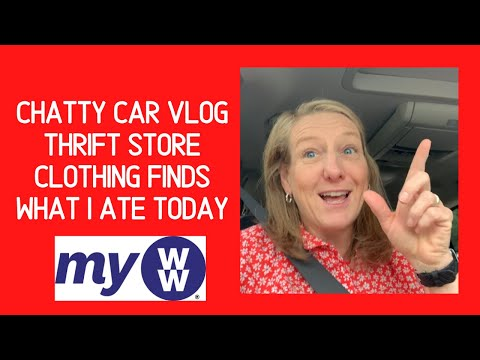 my-ww-|-chatty-vlog-while-on-a-shopping-road-trip-|-what-i-ate-today-|-thrift-store-clothing-finds