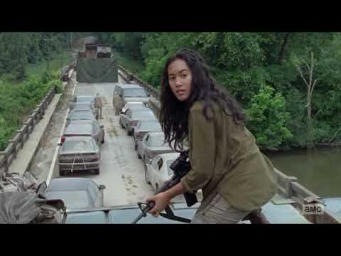 Dangerous movie clip The walking dead