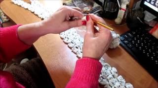 Как связать красивый шарф  Часть1