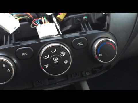 Kia Forte Factory Stereo Replacement
