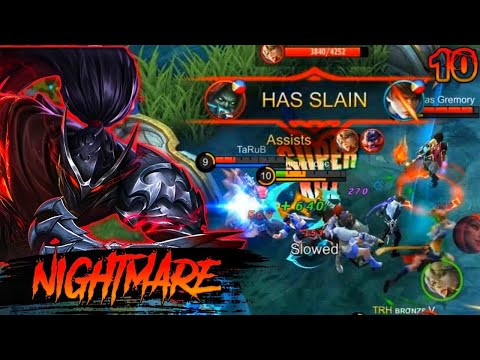 HAYABUSA BEST HIGHLIGHTS MONTAGE 🔥| NIGHTMARE | MOBILE LEGENDS