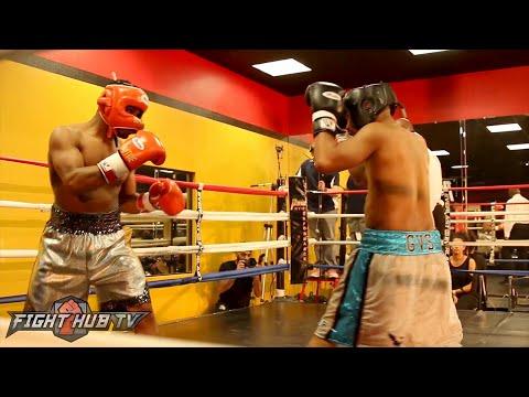 Shawn Porter vs. Larnardo Tyner Full Exhibition Fight video