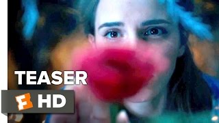 beauty and the beast official teaser trailer 1 2017 emma watson dan stevens movie hd