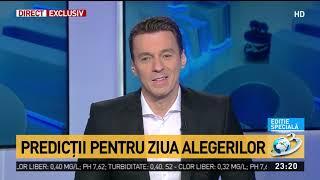 Mircea Badea, predicții pentru ziua alegerilor