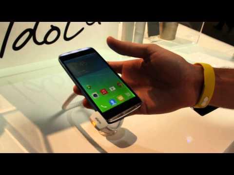 Demo del smartphone One Touch Idol Alpha de Alcatel