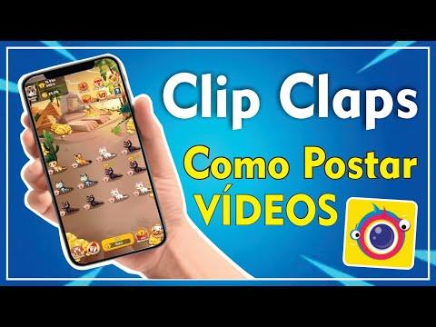 CLIPCLAPS - COMO POSTAR VÍDEOS E GANHAR MAIS DINHEIRO | 2020✔️