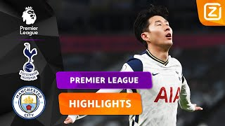 SPANNENDE STRIJD IN LONDEN ⚔️ | Tottenham vs Manchester City | Premier League 2020/21 | Samenvatting