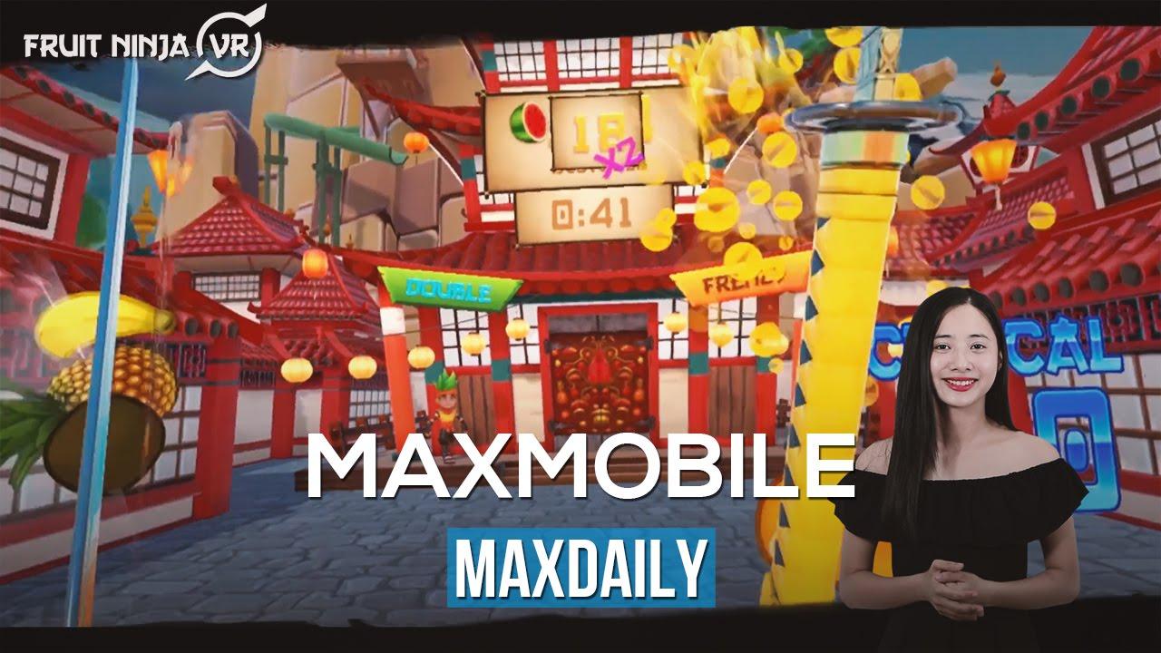 """MaxDaily 09/07: Trải nghiệm game chém hoa quả """"thật""""; Người Anh sử dụng AI để nấu biaMaxDaily 09 07"""