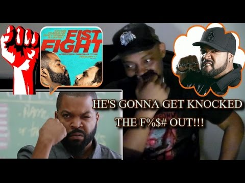 Fist Fight Official Trailer 2 (Ice Cube) REACTION!!!