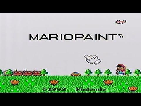 Mario Paint on SNES (For Nintendo Wii U Hopefully)