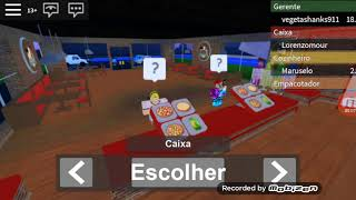 Working at the pizzeria in Roblox (Dante DMC Gamers