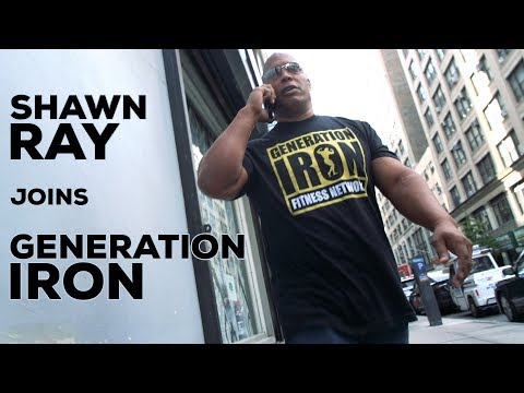 Shawn Ray Joins Generation Iron As Senior Analyst & Producer | Generation Iron