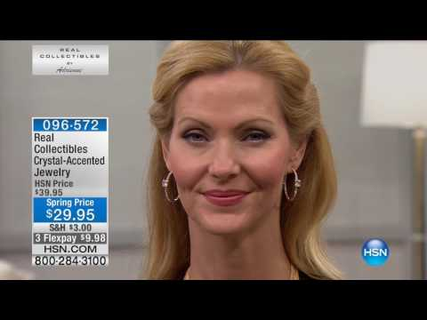 HSN | Real Collectibles Jewelry By Adrienne 02.16.2017 - 06 PM