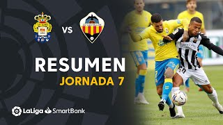 Resumen de UD Las Palmas vs CD Castellón (2-1)