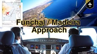 FUNCHAL-Madeira Approach, LIVE ATC, Checklists, MovMap, 4K
