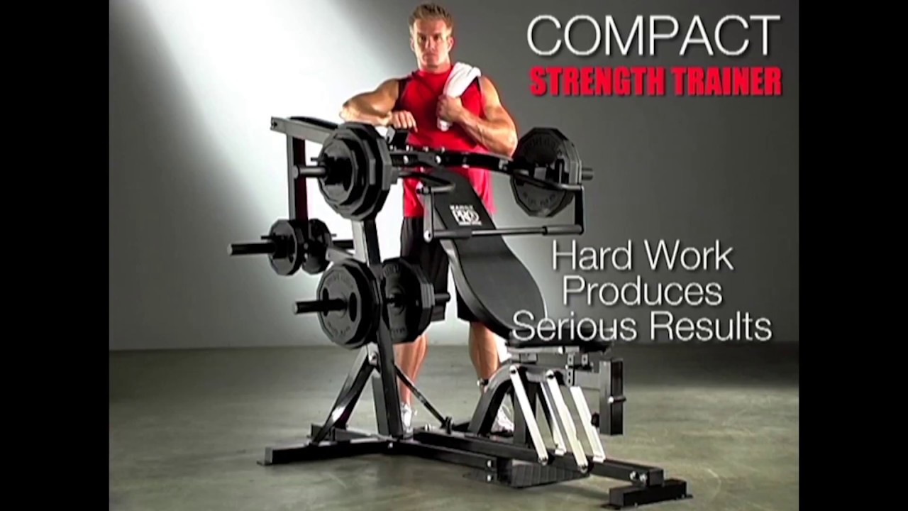 Marcy Pm4400 Leverage Home Gym With Weight Bench Exercise Guide Youtube