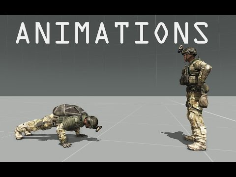 Arma 3 Editor Tutorial - Animations