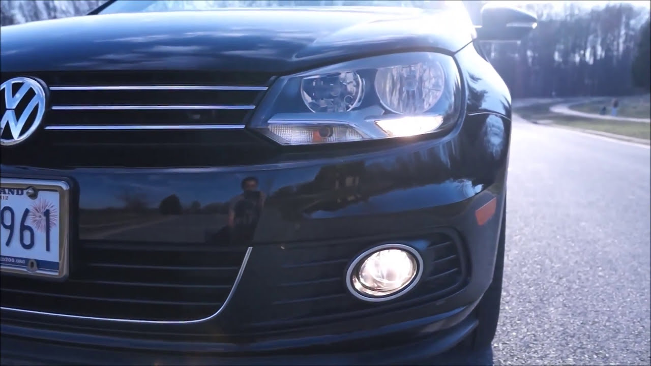 Vag-Com Coding - Using Obdeleven To Switch Fog Lights As Drls (Volkswagen)   Paul L 01:16 HD