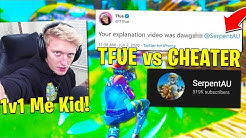 TFUE *CALLS OUT* SerpentAU! (CHEATER) BUGHA Goes *WORLD CUP MODE* + INNOCENTS ROASTS SIMP! Fortnite