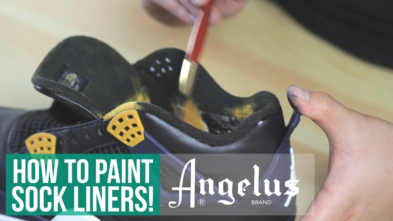Custom Dunk From Above | How To Paint Fabrics | Part 2 of 3. Angelus Shoe  Polish
