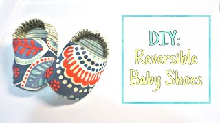 DIY: How to Sew Reversible Baby Shoes
