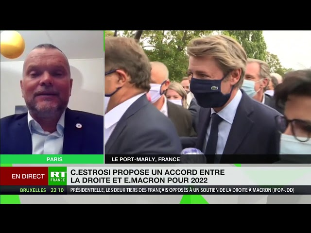 Georges Kuzmanovic : «Macron espère phagocyter une partie de la droite qui a trahi la Nation»