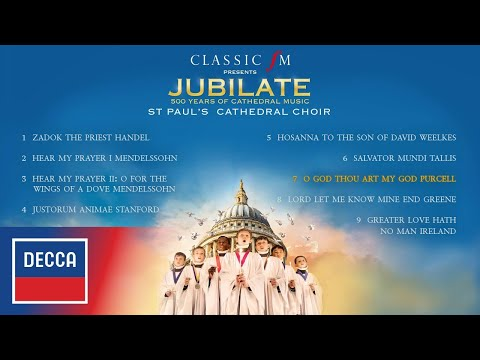 JUBILATE - 500 Years of Cathedral Music - St Paul's Cathedral Choir Album Sampler