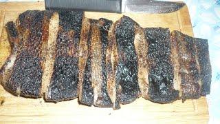 Хвост бобра гриль, готовим на мангале хвост бобра.