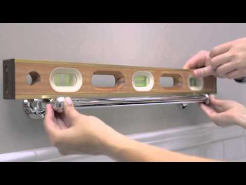 How to Install a Towel Rack | Pottery Barn