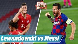 ⚽️  Torjäger-Duell! Lewa besser als Messi? | Reif ist Live