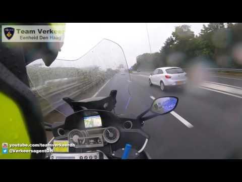 Ambulancebegeleiding / Police escort Kruithuisweg Delft naar Erasmus MC 29-09-2016