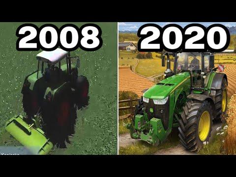 Graphical Evolution Of Farming Simulator (2008-2020)