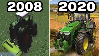 Graphical Evolution of Farming Simulator (2008-2020)