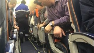Amateurvideo aus Russland: Betrunkener versucht, Flugzeug zu entführen