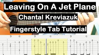 Download Leaving On A Jet Plane Guitar Lesson Fingerstyle Tab Tutorial Guitar Lessons for Beginners