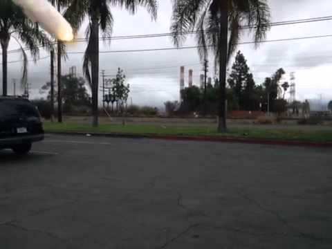Missile attack on San Fernando Rd!