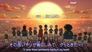 イナズマイレブン Inazuma Eleven Op 5 karaoke sub test