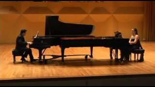 """Kapustin """"Manteca"""" - Paraphrase for two pianos"""