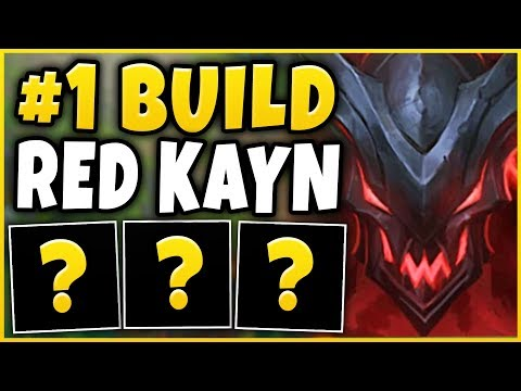 THIS IS 100% THE BEST BUILD FOR RED KAYN IN SEASON 9! ft. TF BLADE - League of Legends