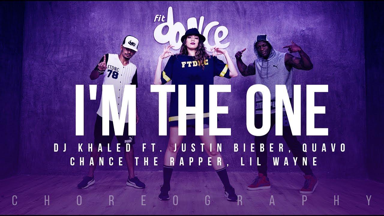 Im The One Dj Khaled Ft Justin Bieber Lil Wayne Fitdance Life Choreography Dance Video