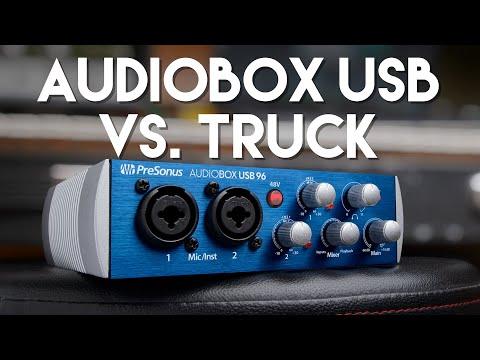 PreSonus AudioBox USB 96: Trucked