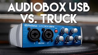 PreSonus AudioBox USB 96: Trucked