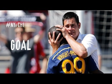GOAL: Bradley Wright-Phillips penalty completes hat trick | NY Red Bulls vs Chicago Fire